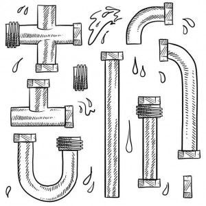 Sketch of different pipe shapes